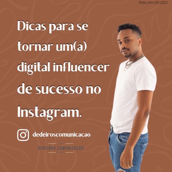 Imagem principal do produto DICAS PARA SE TORNAR UM(A) DIGITAL INFLUENCER DE SUCESSO NO INSTAGRAM