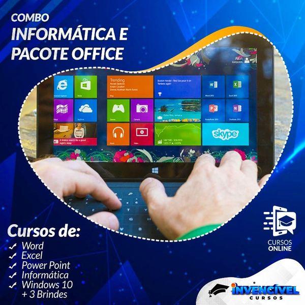 Imagem principal do produto INFORMÁTICA + PACOTE OFFICE + 3 BRINDES