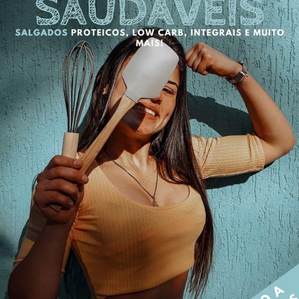 Imagem principal do produto  Ebook Receitas Saudáveis- Salgados Vol. 2