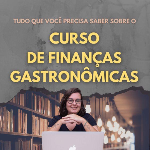 Imagem principal do produto Curso de Finanças Gastronômicas