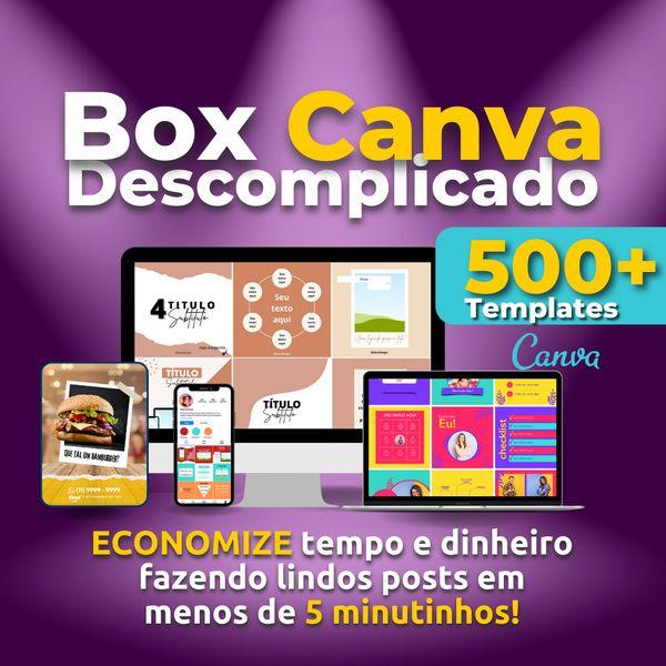 Imagem principal do produto BOX Canva 500+