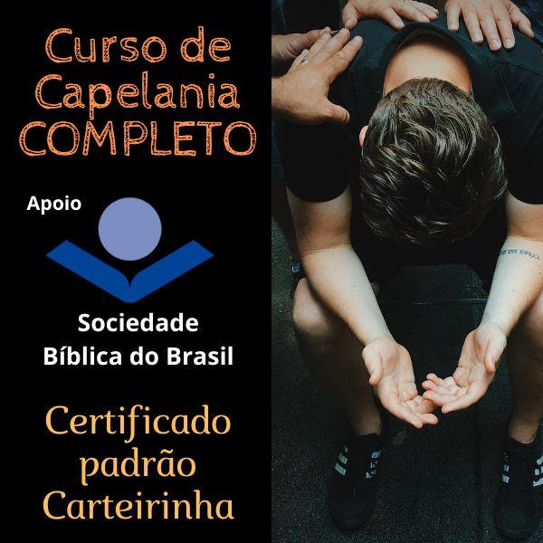 Imagem principal do produto Curso de Capelania - COMPLETO