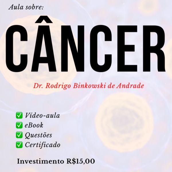 Imagem principal do produto Aula sobre Câncer