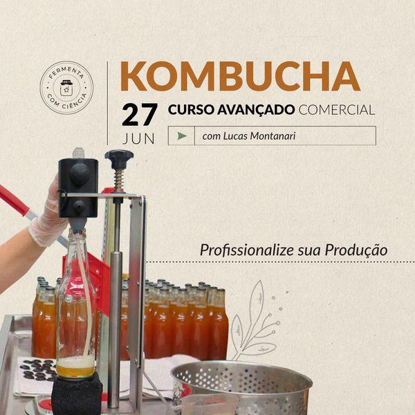 Imagem principal do produto Kombucha Avançado Comercial - AO VIVO Online em 27/06/2021
