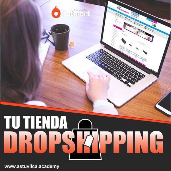 Imagem principal do produto Crea tu tienda Dropshipping