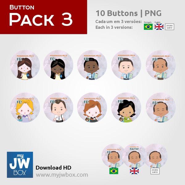 Imagem principal do produto Buttons em PNG - ButtonPack0003