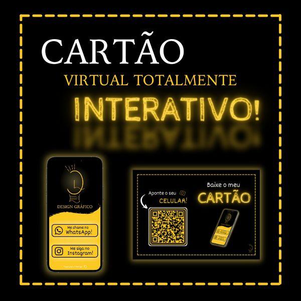 Imagem principal do produto Cartão de Visita Virtual e Interativo
