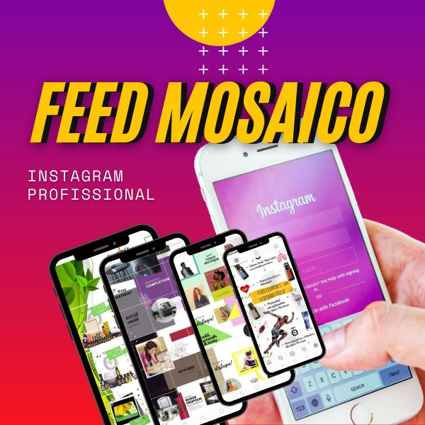 Imagem principal do produto Instagram Mosaico Flasch