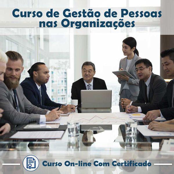 Imagem principal do produto Curso Gestão de Pessoas nas Organizações