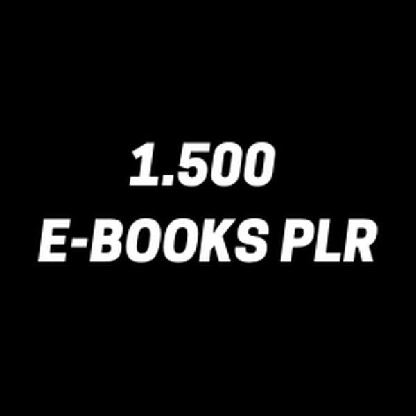 Imagem principal do produto +1500 E-BOOKS PLR + BÔNUS
