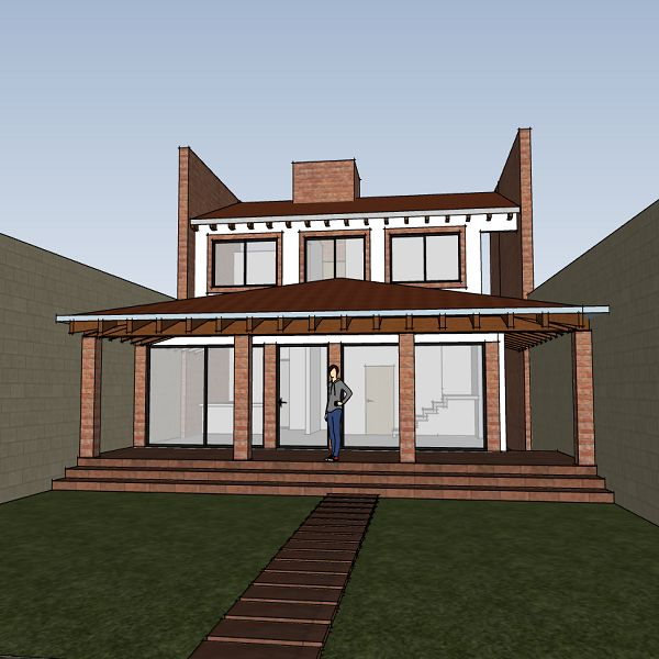 Planos Casa De Campo 10x30 Diseño En 2 Niveles 3 Rec Arquitectura Digital Learn A New Skill Ebooks Or Documents Hotmart