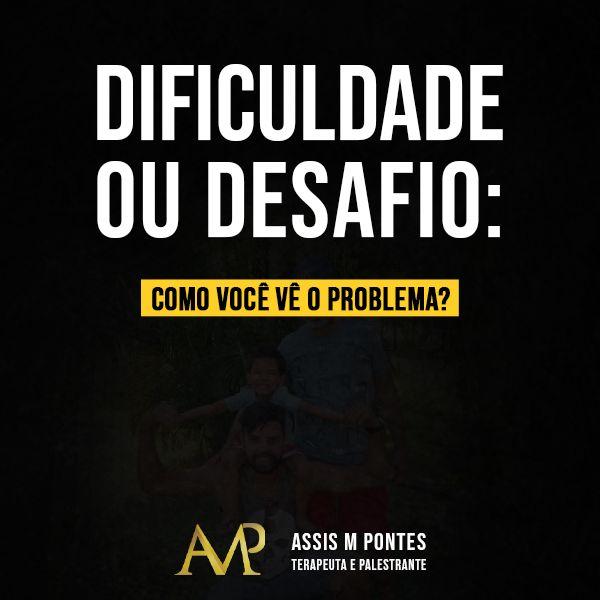 Imagem principal do produto E-book Dificuldade ou Desafio: como você vê o problema?