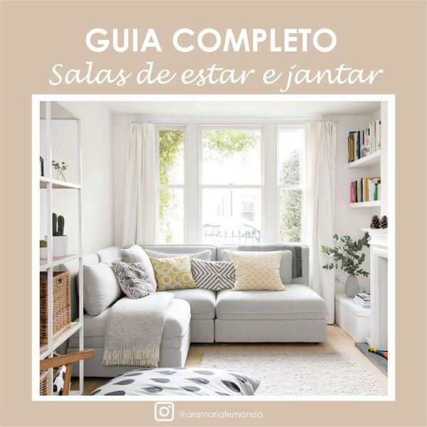 Imagem principal do produto GUIA COMPLETO SALAS DE ESTAR E JANTAR