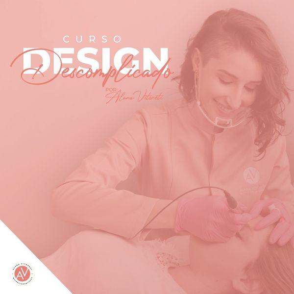 Imagem principal do produto Curso  Design Descomplicado