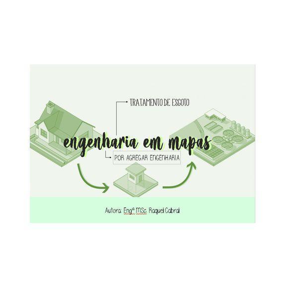 Imagem principal do produto ENGENHARIA EM MAPAS - TRATAMENTO DE ESGOTO