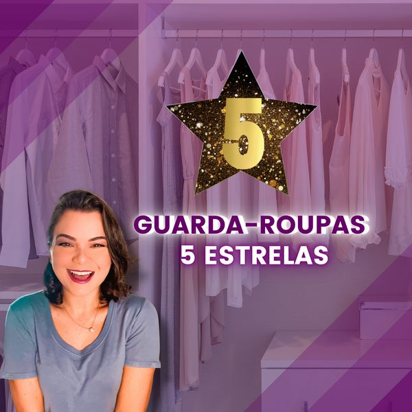 Imagem principal do produto Guarda-roupas 5 estrelas