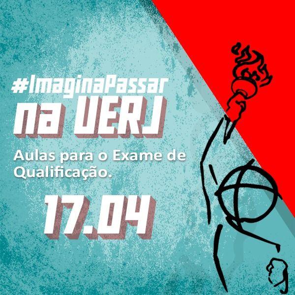Imagem principal do produto #ImaginaPassar na UERJ