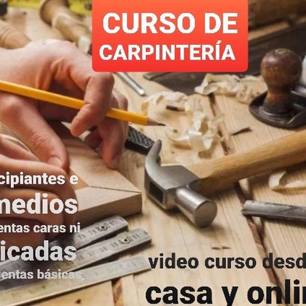 Imagem principal do produto Curso de Carpintería y diseño