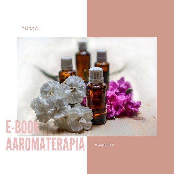 Imagem principal do produto E-BOOK curso completo de aromaterapia