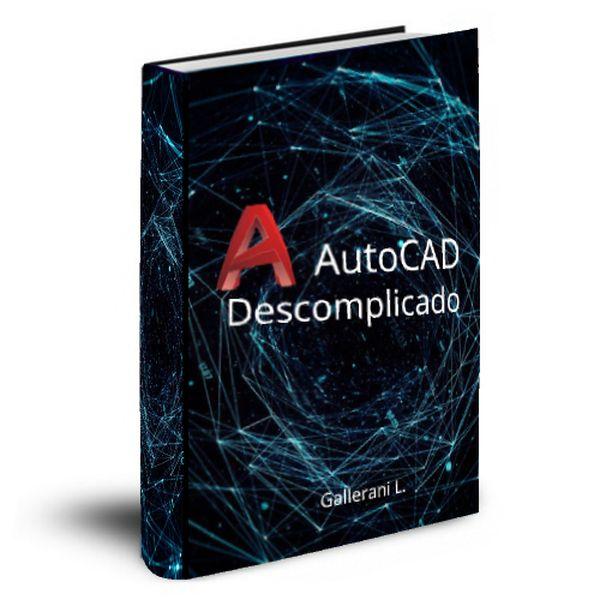 Imagem principal do produto Aprenda AutoCAD 2D e 3D de forma simples e prática.