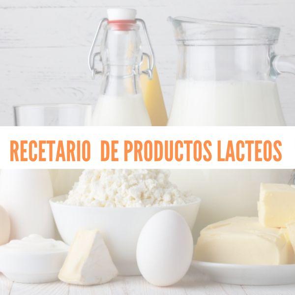 Imagem principal do produto elaboración de productos lácteos