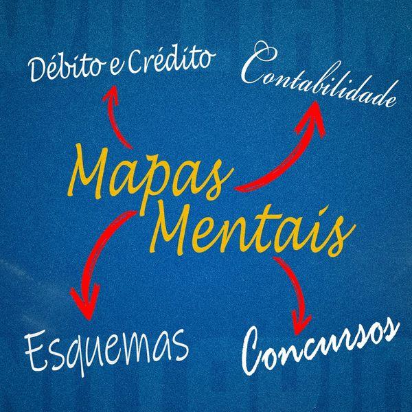 Imagem principal do produto MAPAS MENTAIS DE CONTABILIDADE