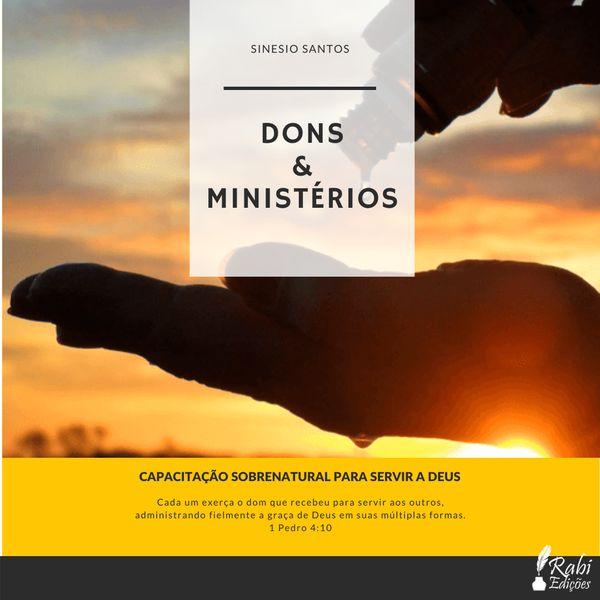 Imagem principal do produto DONS & MINISTÉRIOS