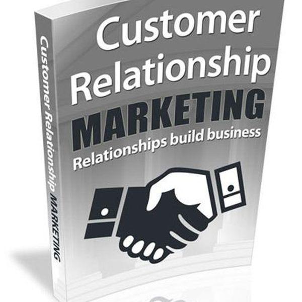 Imagem principal do produto Customer Relationship Marketing