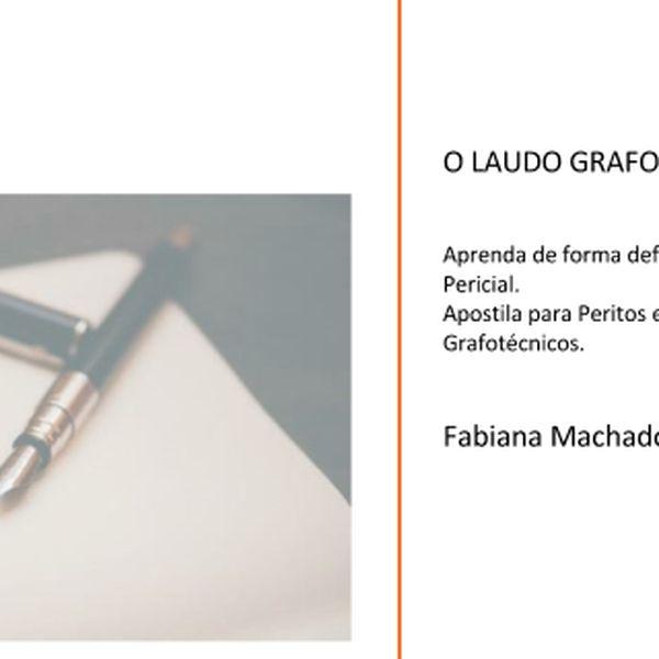 Imagem principal do produto Apostila Laudo Grafotécnico