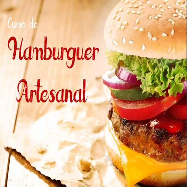 Imagem principal do produto Curso de Hambúrguer Artesanal