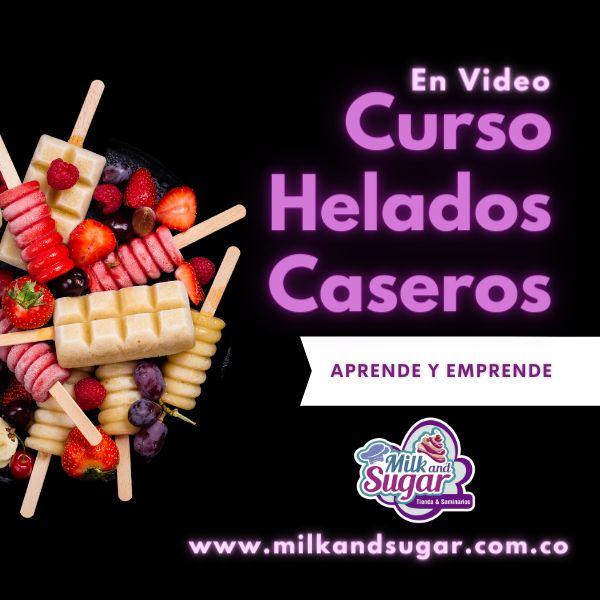 Imagem principal do produto Curso Helados Caseros para negocio
