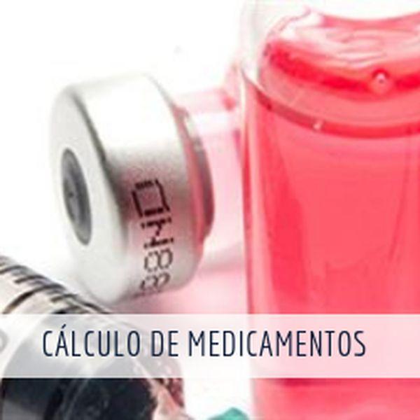 Imagem principal do produto Curso online de atualização Cálculos de Medicamentos