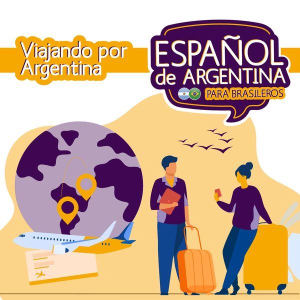 Imagem principal do produto Espanhol da Argentina Para Viajar