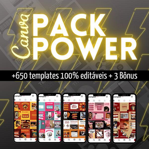 Imagem principal do produto Canva - Pack Power