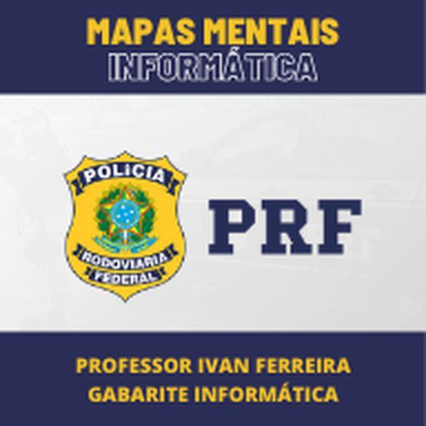 Imagem principal do produto Mapas mentais de Informática - PRF
