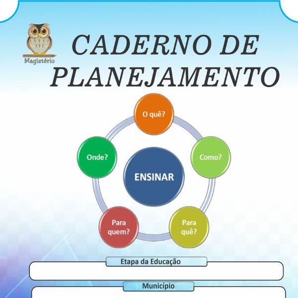 Imagem principal do produto Caderno de Planejamento do Professor