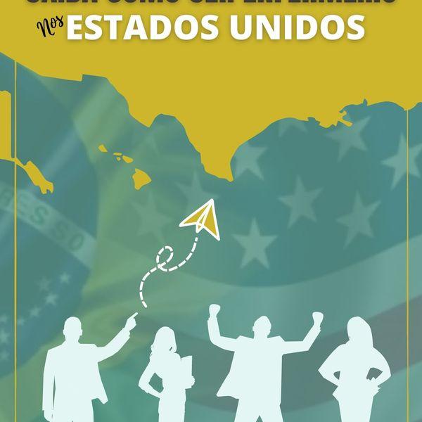 Imagem principal do produto GUIA DEFINITIVO - Saiba como ser Enfermeiro nos Estados Unidos!