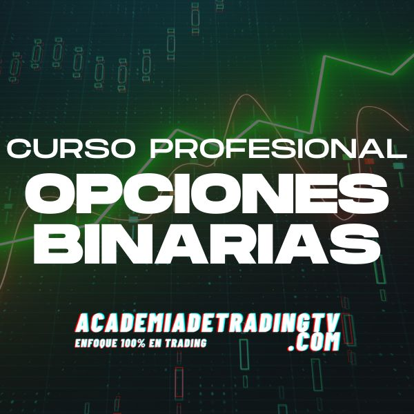 Imagem principal do produto Curso Profesional de Opciones Binarias   Academia de trading TV   academiadetradingtv.com