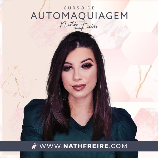 Imagem principal do produto DESCOMPLICANDO A AUTOMAQUIAGEM por NATH FREIRE