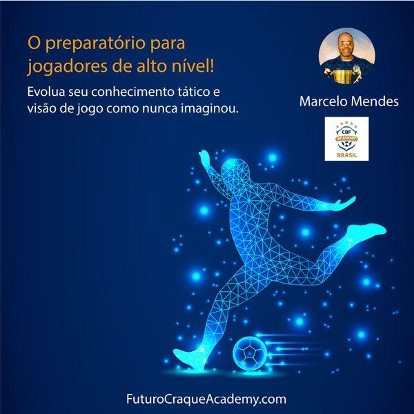 Imagem principal do produto FUTURO CRAQUE ACADEMY - Seu Curso Pré-Vestibular de Futebol