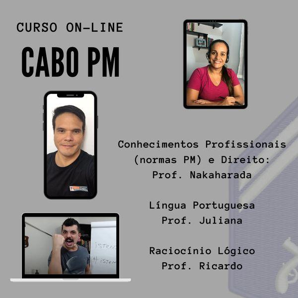 Imagem principal do produto Cabo PM - Curso Preparatório