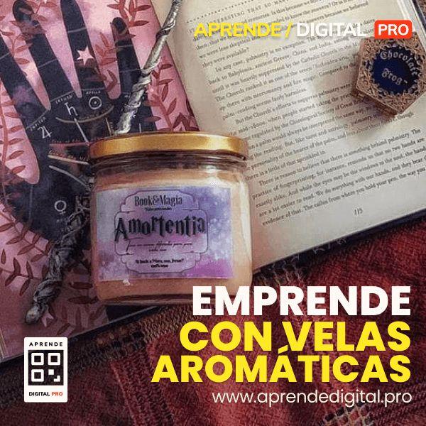 Imagem principal do produto EMPRENDE CON  VELAS AROMÁTICAS