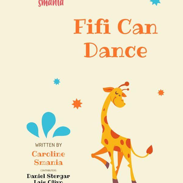 Imagem principal do produto Fifi Can Dance - Uma história para crianças de 3 a 6 anos