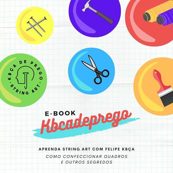 Imagem principal do produto Como Aprender String Art com Felipe Kbça