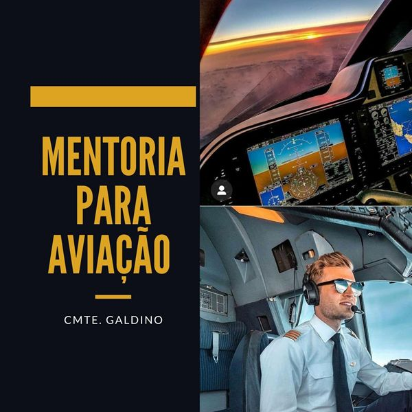 Imagem principal do produto Cmte. Galdino - Mentoria para Aviação.
