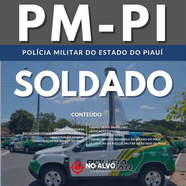 Imagem principal do produto APOSTILA POLÍCIA MILITAR DO PIAUÍ - SOLDADO