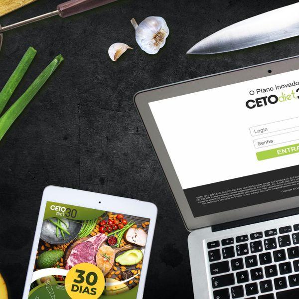 Imagem principal do produto Ceto Diet 30 - Perca até 8kg em 30 dias comendo o que gosta
