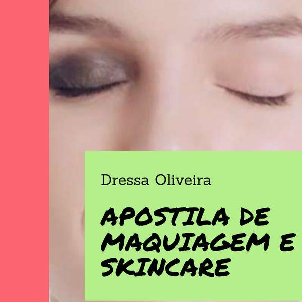 Imagem principal do produto Apostila de Maquiagem e Skincare