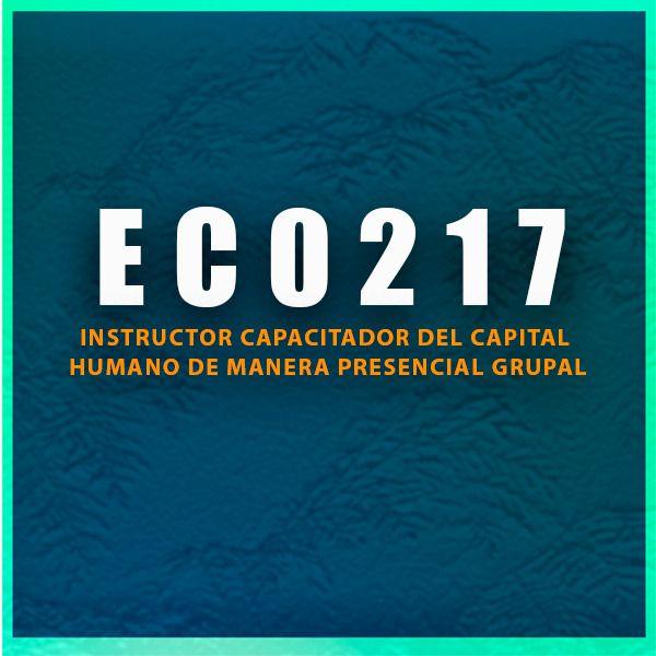 Imagem principal do produto CURSO DE ALINEACIÓN CON FINES DE CERTIFICACIÓN EC0217 INSTRUCTOR CAPACITADOR DEL CAPITAL HUMANO PRESENCIAL GRUPAL