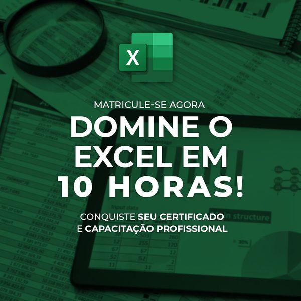 Imagem principal do produto Curso Completo de Excel (Básico ao Avançado)